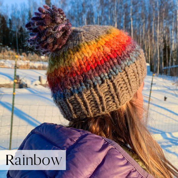 Rainbow Skye Hat