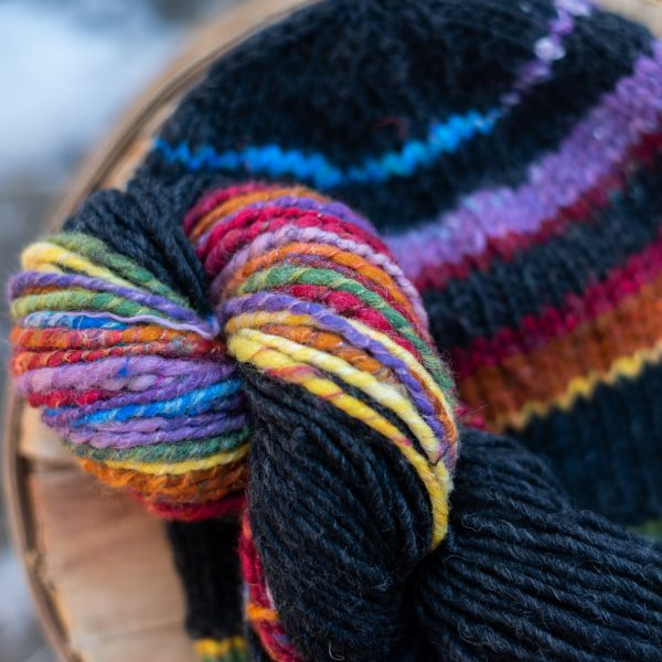 Rainbow Ester Hat